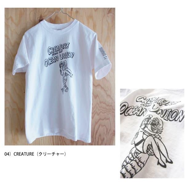 TT01 / OCEAN UINION / ナーバル タトゥー Tシャツ / 各4柄