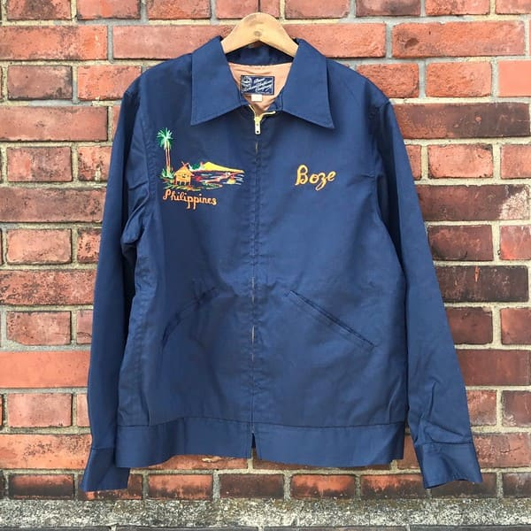 Lot No_BR14416  BUZZ RICKSON'S(バズリクソンズ) EMNROIDERED SOUVENIR JACKET,COTTON-RAYON