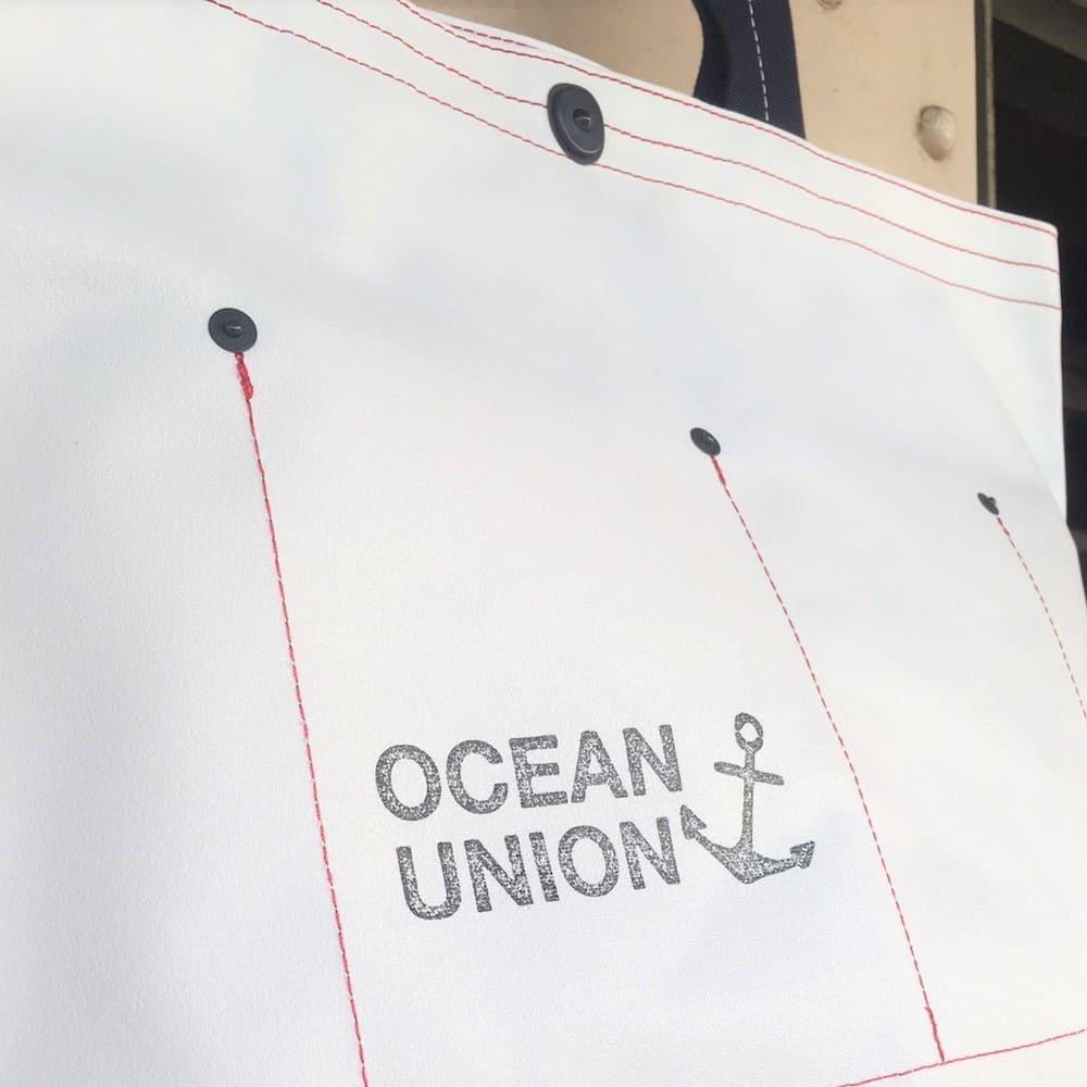 横浜帆布鞄×OCEAN UNION / ミュゼット ボートトートバッグ