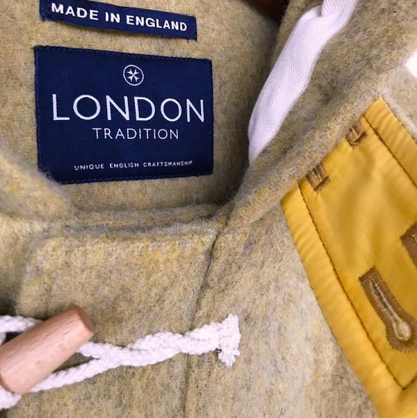 London Tradition / ダッフルコート ロングシャギー 起毛