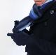Lot No_GW001 GILBERT WILSON(ギルバートウィルソン)ストライプウールマフラー&手袋セット