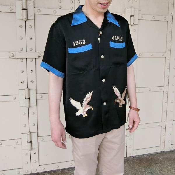 "Lot No_TT37916 TAILOR TOYO  S/S SUKA RAYON SHIRT ""ROARING TIGER""SPECIAL EDITION 半袖 レーヨンシャツ"