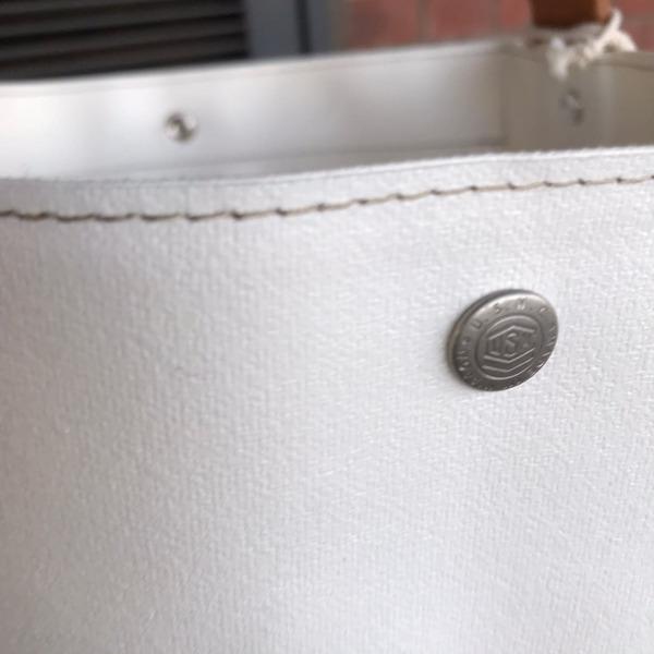 Lot No_M13A10 横浜帆布鞄 ×OCEAN UNION Bucket Carry Bag