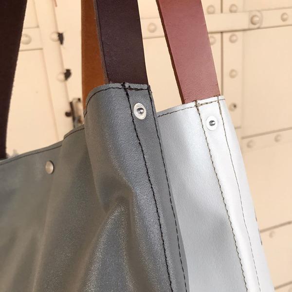 【2020 新色入荷】 横浜帆布鞄 ×OCEAN UNION Bucket Carry Bag