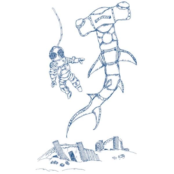 "Lot No_CRS07 / OCEAN UNION Marine Department デザイン プリント Tシャツ "" YOKOHAMA SEABED  """