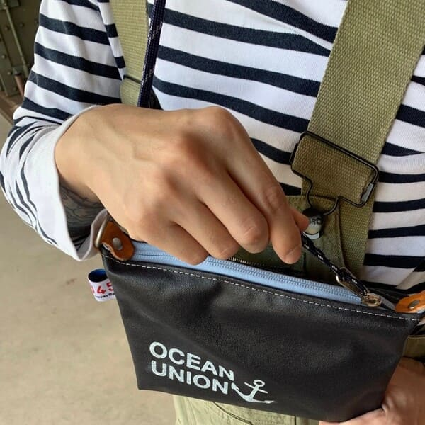 横濱帆布鞄×OCEAN UNION / SACCOCHE(サコッシュ)