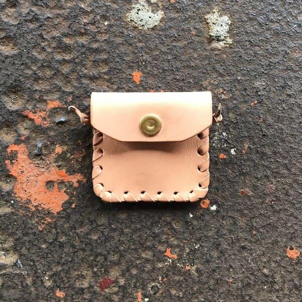 Lot No_BBL-831 / BrownBrown (ブランブラン) / かがり縫いコインケース