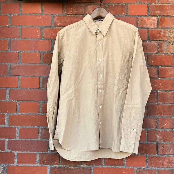 V.D.L.C / メンズ 綿麻 レギュラーカラー シャツ
