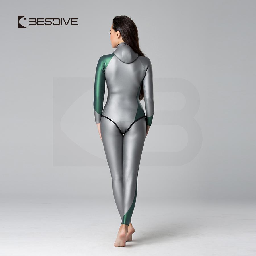 BESTDIVE ストリームラインSCS シルバー/グリーン