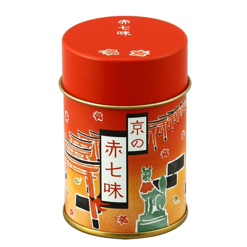 赤七味 缶
