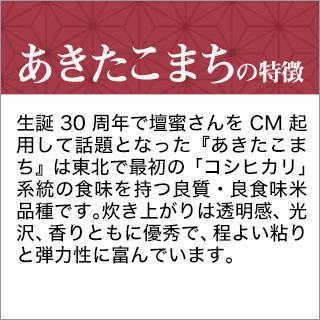 令和2年(2020年) 青森県産 あきたこまち 白米 2kg【米袋は真空包装】