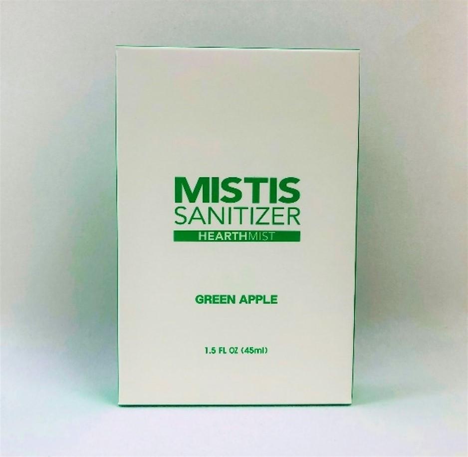 香り付き除菌スプレー MISTIS SANITIZER GREENAPPLE(青りんごの香り)
