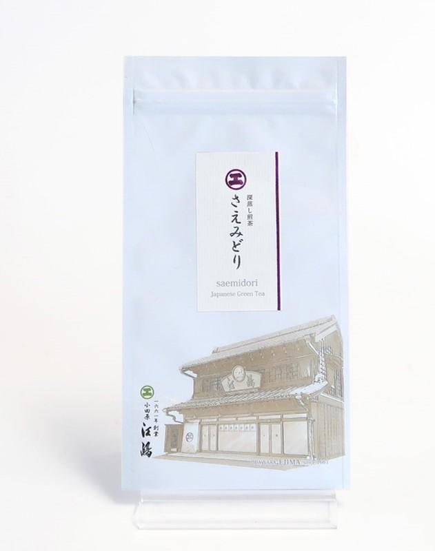 さえみどり 100g袋入 掛川産深蒸し煎茶