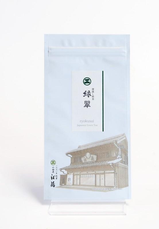 緑翠-りょくすい- 100g袋入 掛川産深蒸し煎茶
