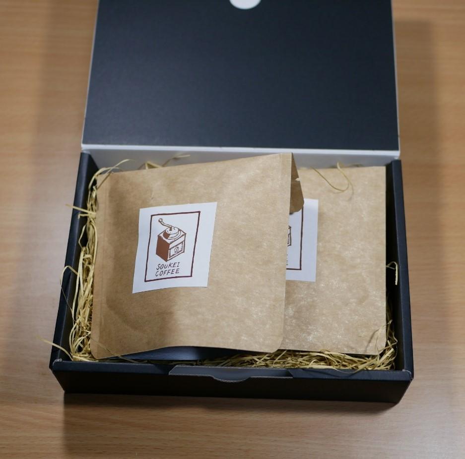 オリジナル珈琲セット(豆) 60g×2種