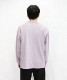 "【EXCLUSIVE】crepuscule MOCK NECK  L/S TEE ""L.Purple"""