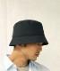 "KAIKO 3 LAYER BUCKET HAT ""BLACK"""