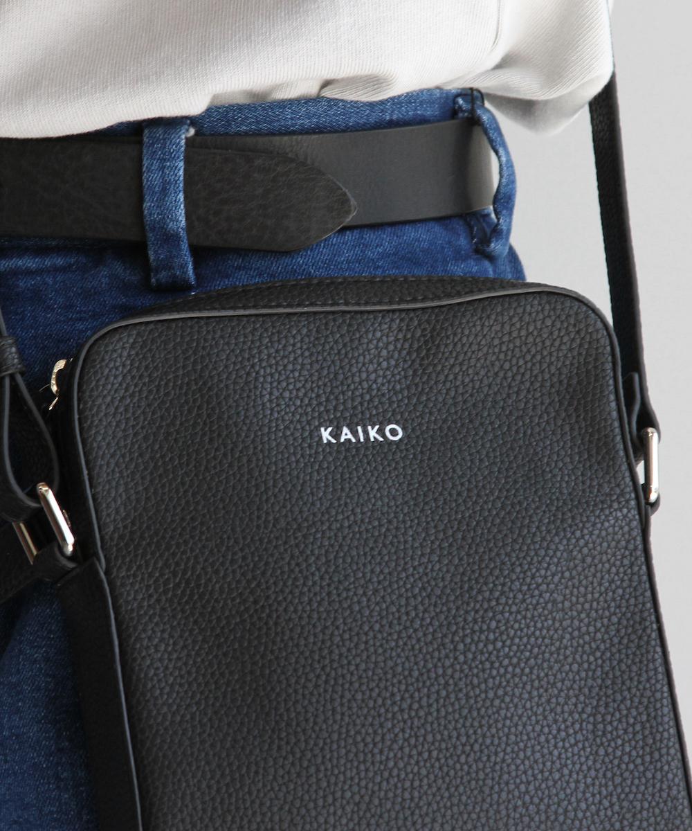"""【LIMITED SALE】KAIKO BOX SHOULDER BAG """"BLACK"""""""