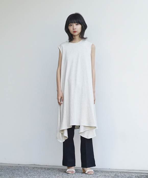 """「LIMITED SALE」 KAIKO SLEEVELESS OP """"T.GRAY"""""""