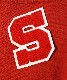 """NEON SIGN LETTERED WAPPEN """"S"""" """"RED"""""""