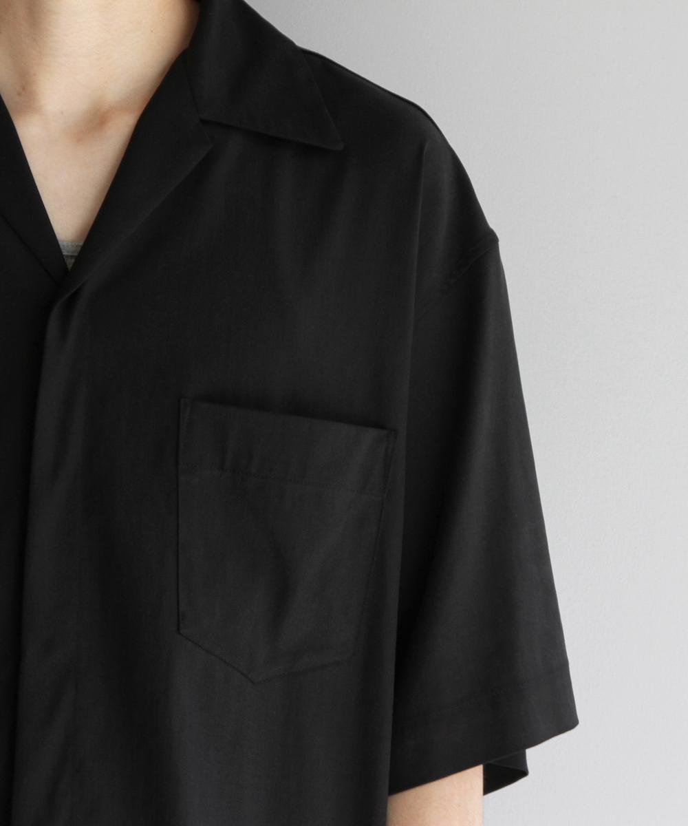 "order loose half sleeve shirt ""black"""