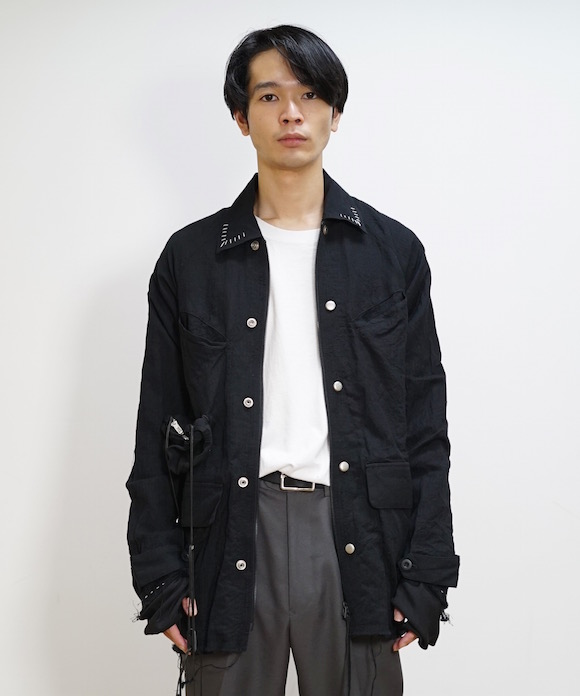 "LEH 4+1 Pocket Jacket ""BLACK"""