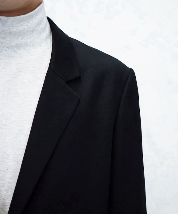 "【SOLD OUT】soe 1B Jacket ""BLACK"""