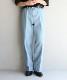 """【予約商品】order loose slacks denim """"indigo full wash"""""""