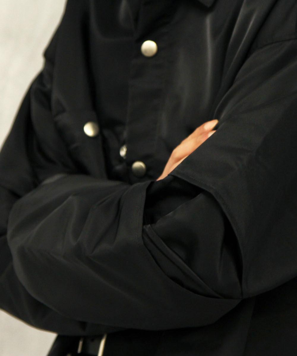"""【EXCLUSIVE】no. LIMITED SHIRT BLOUSON """"BLACK"""""""