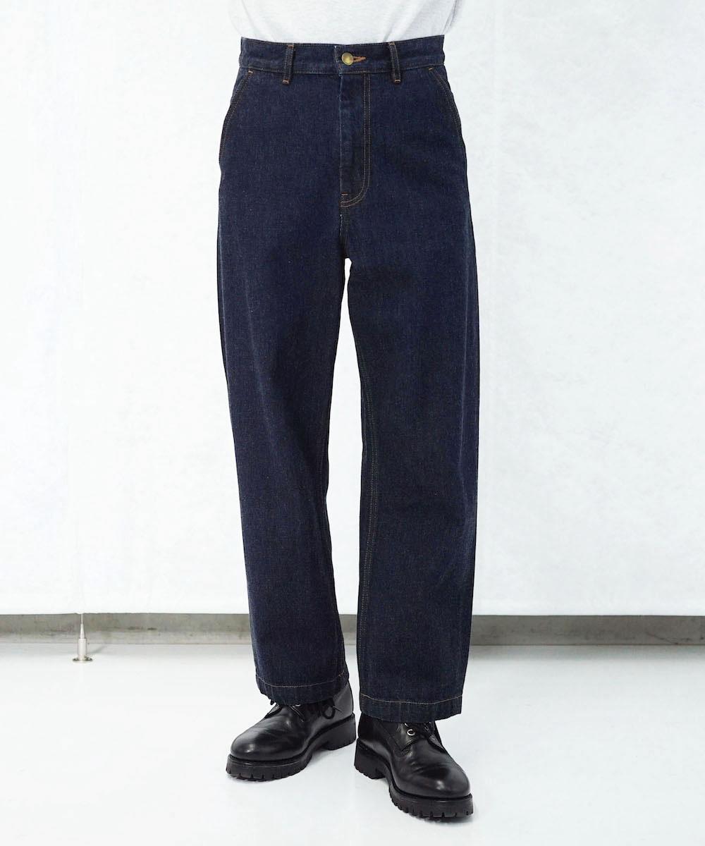 """order loose denim pants one wash """"indigo"""""""