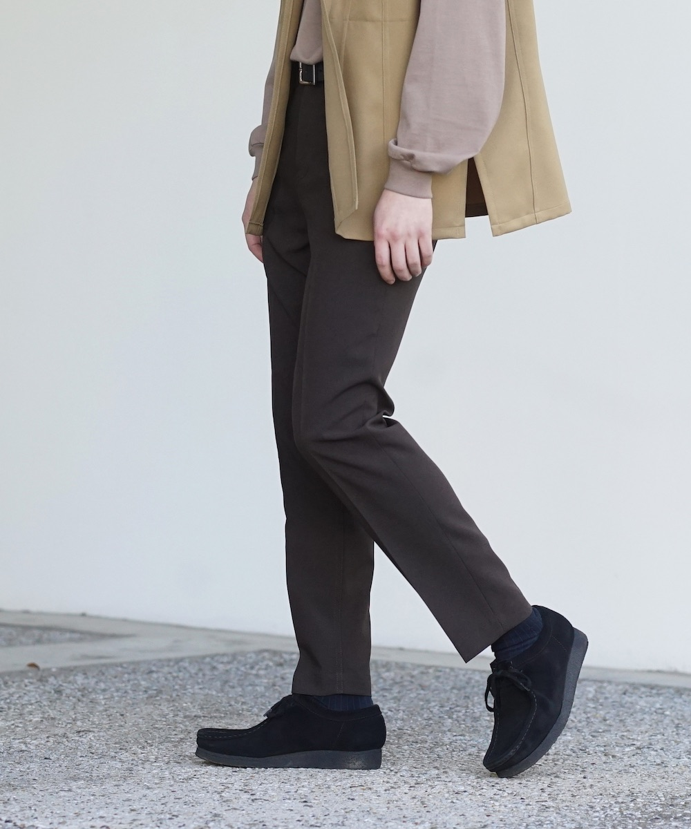 "「LIMITED SALE」 order tight trouser ""brown"""