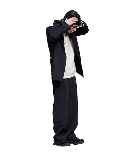 "order loose gabardine pants ""black"""