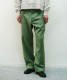 "order loose twill pants ""olive"""
