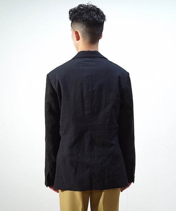 "LEH Asymmetry Tailored JKT ""Black"""