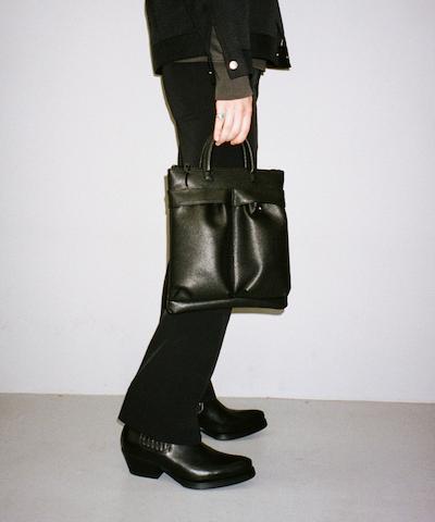 """【LIMITED SALE】KAIKO HELMET 3WAY SHOULDER BAG """"BLACK"""""""