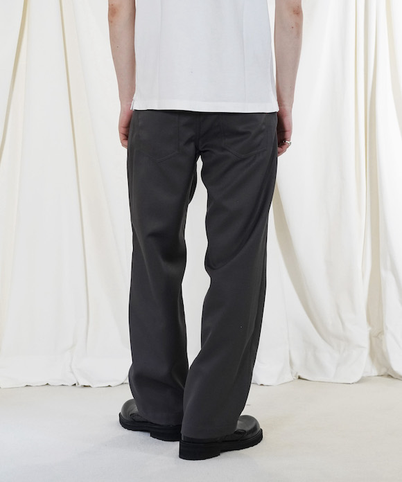 "order loose twill pants ""black"""