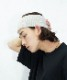 """【LIMITED SALE】KAIKO KNIT HAIR BAND """"L.GRAY"""""""