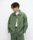 "order loose twill blouson ""olive"""