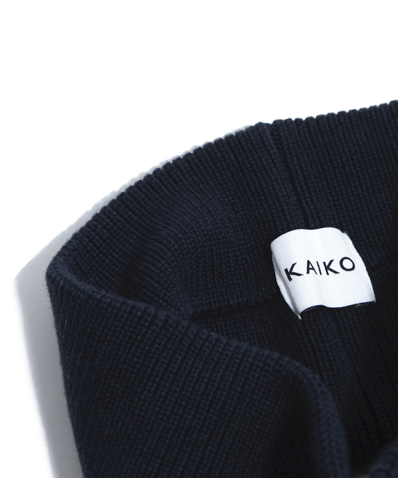 "KAIKO KNIT HAIR BAND ""BLACK"""