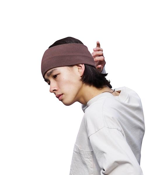 "KAIKO KNIT HAIR BAND ""MOCHA"""
