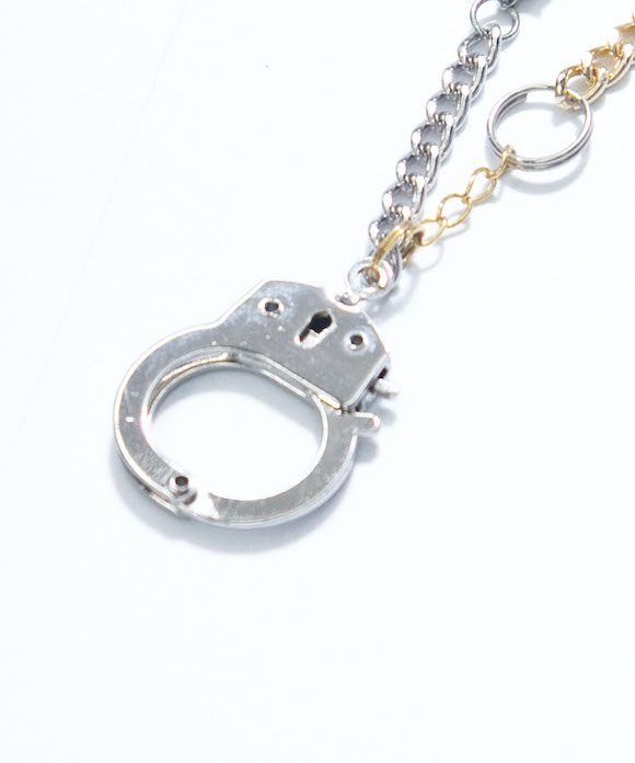 "BLESS Materialmix bracelet C ""FAKE GOLD & SILVER"""
