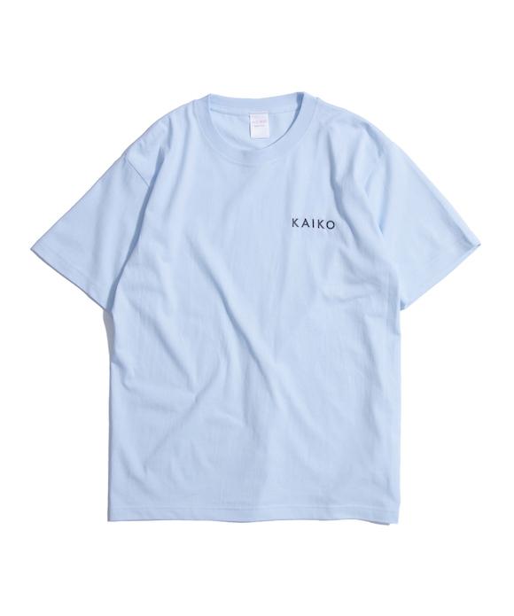 """KAIKO × NOT BOT LOGO TEE """"L.BLUE"""""""