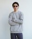 "「LIMITED SALE」 order loose sweat shirt ""top gray"""
