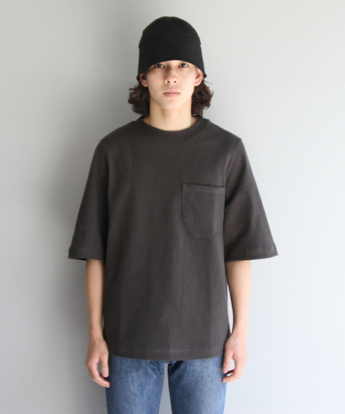 "【LIMITED SALE】KAIKO BOX TEE ""L.BLACK"""