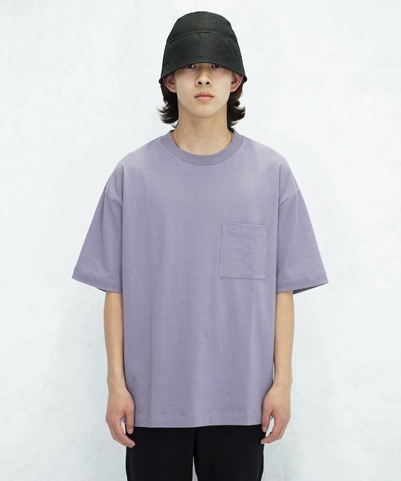 "order loose pocket tee ""lilac"""