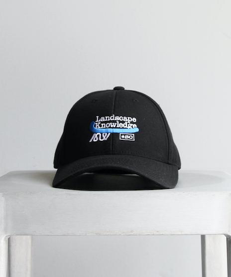 "【SOLD OUT】BLUFCAMP CAP ""BLACK"""