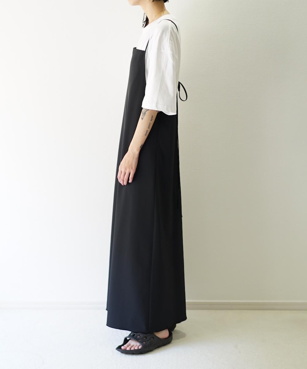 "【LIMITED SALE】KAIKO STRING DRESS ""BLACK"""