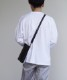 "「予約商品」KAIKO LEATHER SHOULDER BAG ""BLACK"""