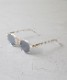 """【SOLD OUT】A.D.S.R. SATCHMO """"Clear / Silver (Lt.Gray)"""""""