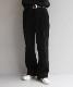 """【予約商品】order loose slacks coorduroy """"black"""""""